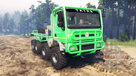 Tatra Phoenix T 158 8x8 pour Spin Tires