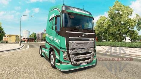 Road King de la peau pour Volvo camion pour Euro Truck Simulator 2