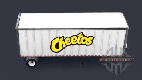 De tous les métaux semi-Cheetos pour American Truck Simulator