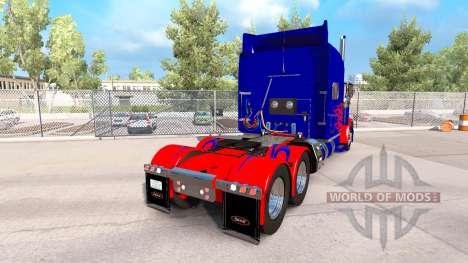 Optimus Prime-skin für den truck-Peterbilt 389 für American Truck Simulator