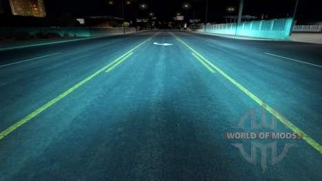 Aquamarine xenons für American Truck Simulator