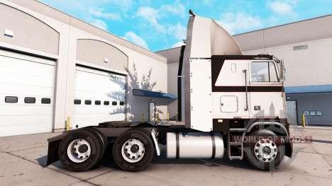 Haut Grau Metallic auf der Zugmaschine Freightli für American Truck Simulator