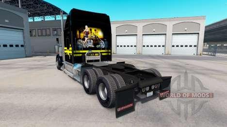 La peau de la Nuit dans le camion Kenworth W900 pour American Truck Simulator