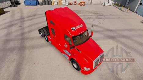 La peau des Chevaliers de Transport pour le trac pour American Truck Simulator