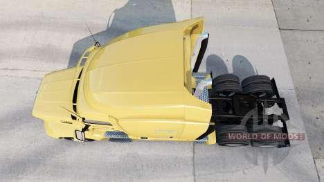 Bison Transport skin für den truck Peterbilt für American Truck Simulator