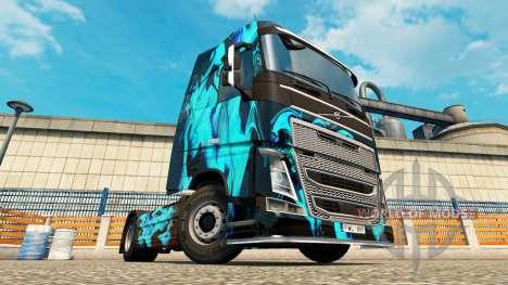 Haut Grüner Rauch für Volvo-LKW für Euro Truck Simulator 2