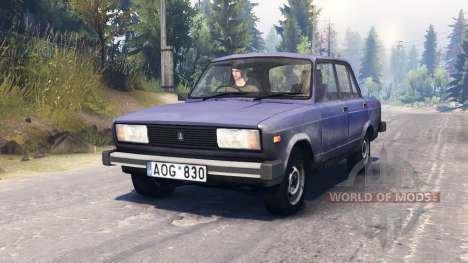 Die VAZ-2105 für Spin Tires