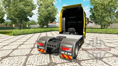 V8-Power skin für MAN-LKW für Euro Truck Simulator 2
