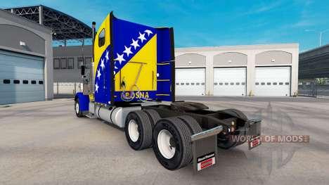 La peau de la Bosnie sur le camion Freightliner  pour American Truck Simulator