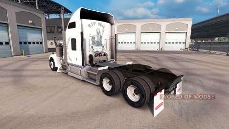 Haut Sons of anarchy auf die LKW-Kenworth W900 für American Truck Simulator