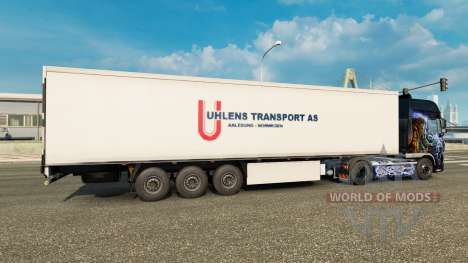 Haut Uhlen Transport ALS semi für Euro Truck Simulator 2
