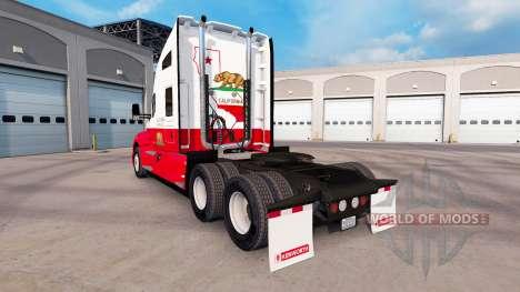République de californie de la peau pour le trac pour American Truck Simulator