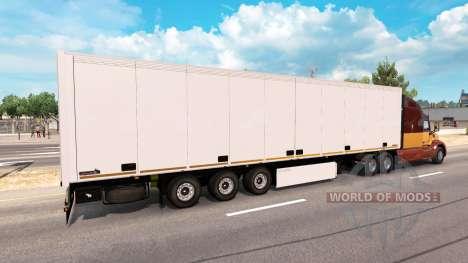 Auflieger-Schmitz Cargobull für American Truck Simulator