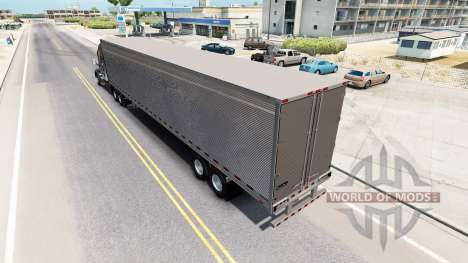 Chromé frigorifique remorque pour American Truck Simulator