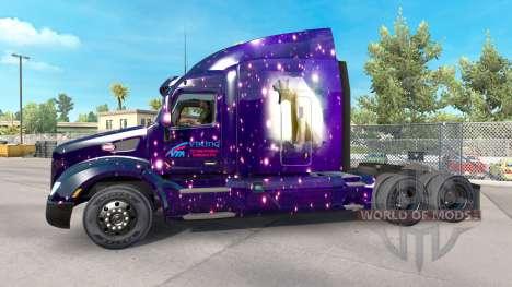 La peau Viking pour camion Peterbilt pour American Truck Simulator