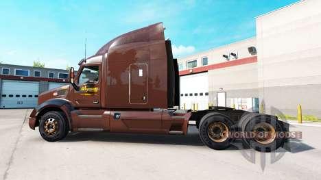 La peau Wegmans sur les tracteurs Peterbilt et K pour American Truck Simulator