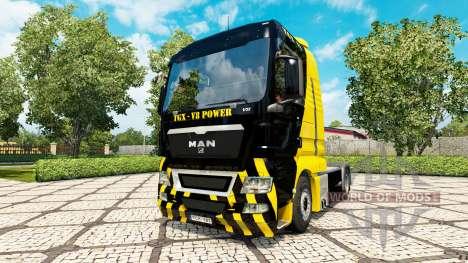 Puissance du V8 de la peau pour l'HOMME de camio pour Euro Truck Simulator 2