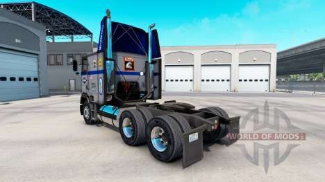 La peau Overnite sur camion Freightliner FLAG pour American Truck Simulator