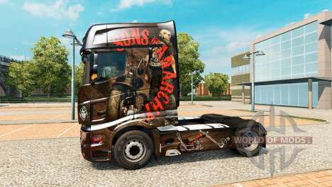 Haut Sons of Anarchy auf Zugmaschine Scania R700 für Euro Truck Simulator 2