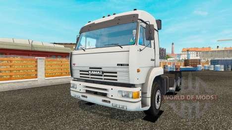 KamAZ-54115 turbo für Euro Truck Simulator 2