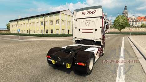 MT-Design-skin für die Scania R700 truck für Euro Truck Simulator 2