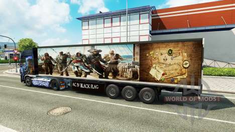 Haut Assassins Creed IV trailer für Euro Truck Simulator 2