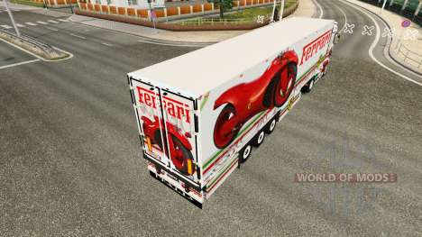 Ferrari peau pour Scania camion R700 pour Euro Truck Simulator 2