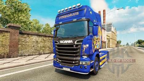 Looney Tunes skin für Scania-LKW für Euro Truck Simulator 2