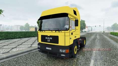 MAN F2000 v2.0 pour Euro Truck Simulator 2
