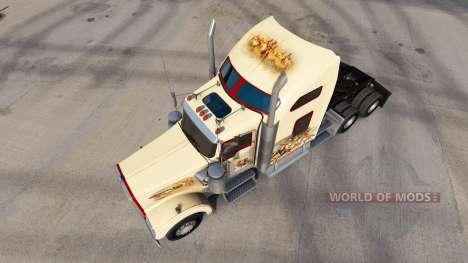 Haut Indian Spirit auf der LKW-Kenworth W900 für American Truck Simulator