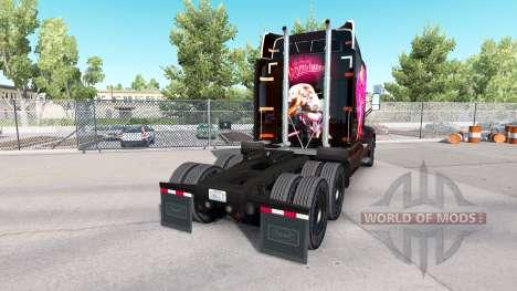 Haut Roger Rabbit Jessica auf die Peterbilt Zugm für American Truck Simulator