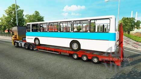 Bas de balayage avec l'autobus Ikarus 260 pour Euro Truck Simulator 2