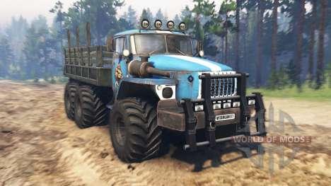 Ural-4320-10 v3.0 pour Spin Tires