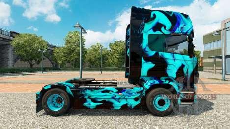 Skin Green Smoke für Scania-LKW für Euro Truck Simulator 2