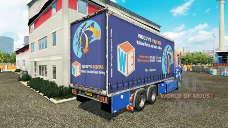 MAN TGS Woodys Express für Euro Truck Simulator 2