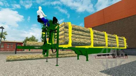 Un camion semi-remorque pour Euro Truck Simulator 2