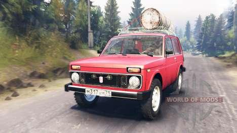 VAZ-2121 für Spin Tires