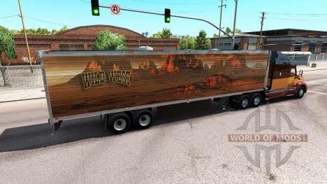 Skin Wild West für den trailer für American Truck Simulator