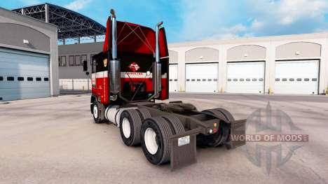 De la peau à la Caroline du tracteur Freightline pour American Truck Simulator