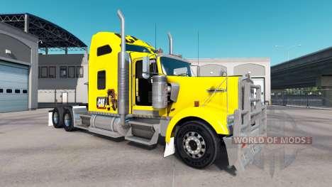 Die Haut der Raupe-Traktor Kenworth W900 für American Truck Simulator