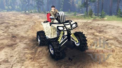 ATV Outlander pour Spin Tires