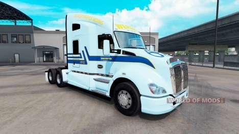 Haut Werner am Traktor Kenworth für American Truck Simulator