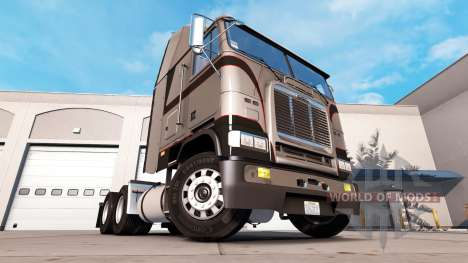 La peau Métallique Gris sur le tracteur Freightl pour American Truck Simulator