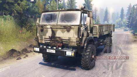 KamAZ-4326 pour Spin Tires