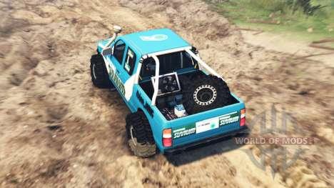 Ford 4x4 für Spin Tires
