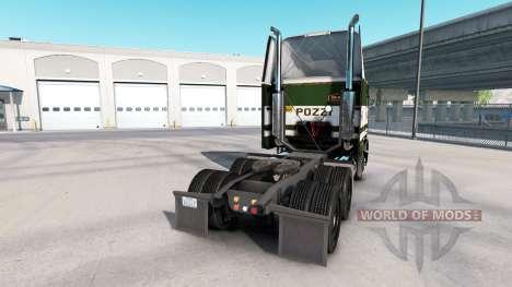 Haut POZZi für LKW Freightliner FLB für American Truck Simulator