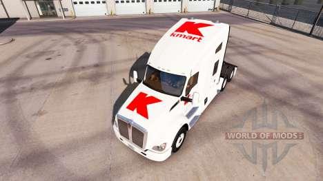 Haut Kmart für Peterbilt und Kenworth trucks für American Truck Simulator