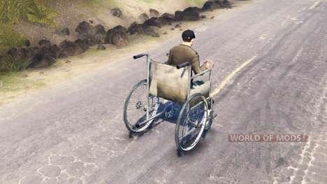 L'accès en fauteuil roulant pour Spin Tires
