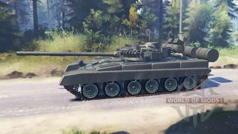 T-80A (Objet 219 BIS) pour Spin Tires