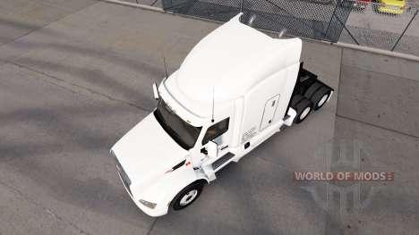 L'aube Express de la peau pour le camion Peterbi pour American Truck Simulator